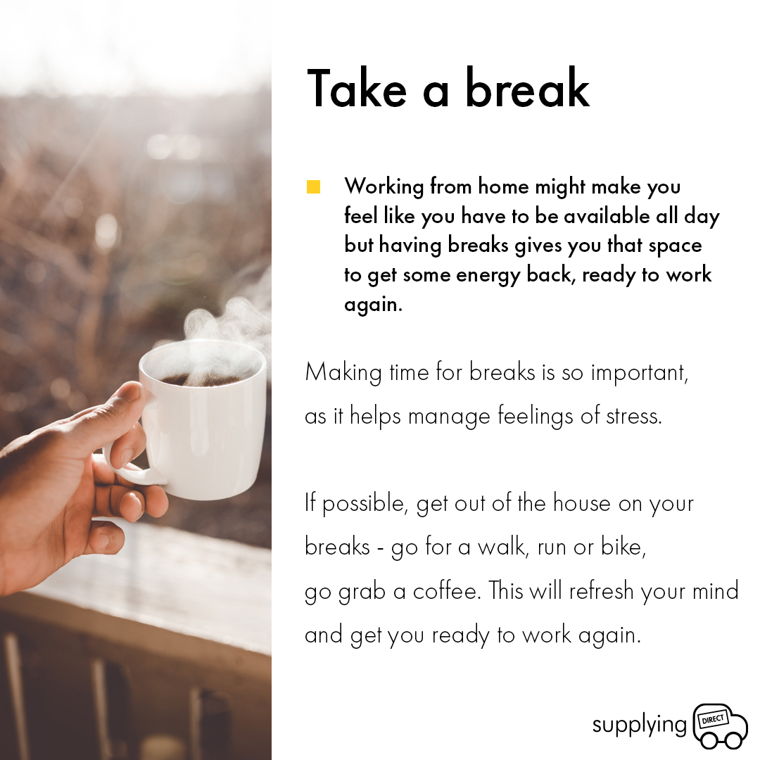 Working from home tips 4
